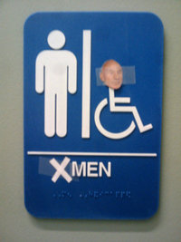Les toilettes mutant