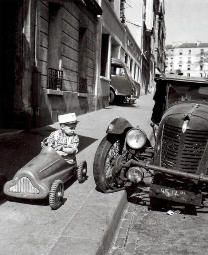 Photo de Robert Doisneau.