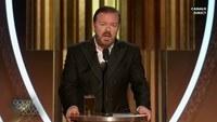 Ricky Gervais détruit Hollywood