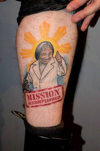 Tatouage à mon effigie