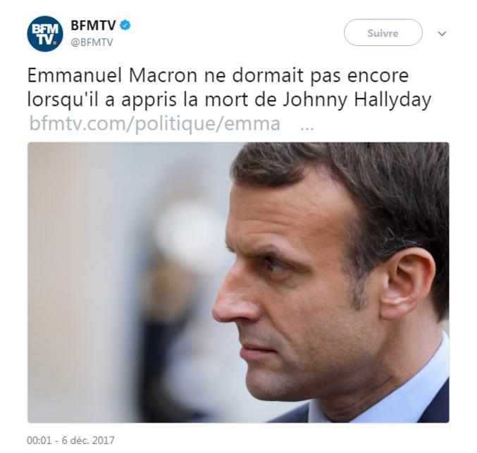 Moi non plus, d'ailleurs. Suis-je un surhomme comme Macron, du coup?