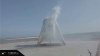 SpaceX : le Starhopper réussit un dernier vol d'essai.