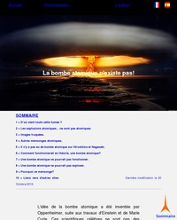 La bombe atomique n'existe pas !