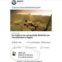 C'est en Egypte...