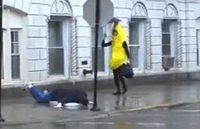 Kan une banane glisse sur une peau d'homme