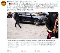 La folie 2020 continue ... cette fois ... Coup d'État en France !!!