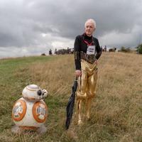 Anthony Daniels sur le tournage de The Rise of Skywalker