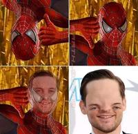 Révélation, le véritable visage de l'homme araignée !