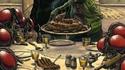 """Repas de famille chez """"Les Mouches""""."""