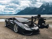 Lamborghini Huracam pour le cinéma