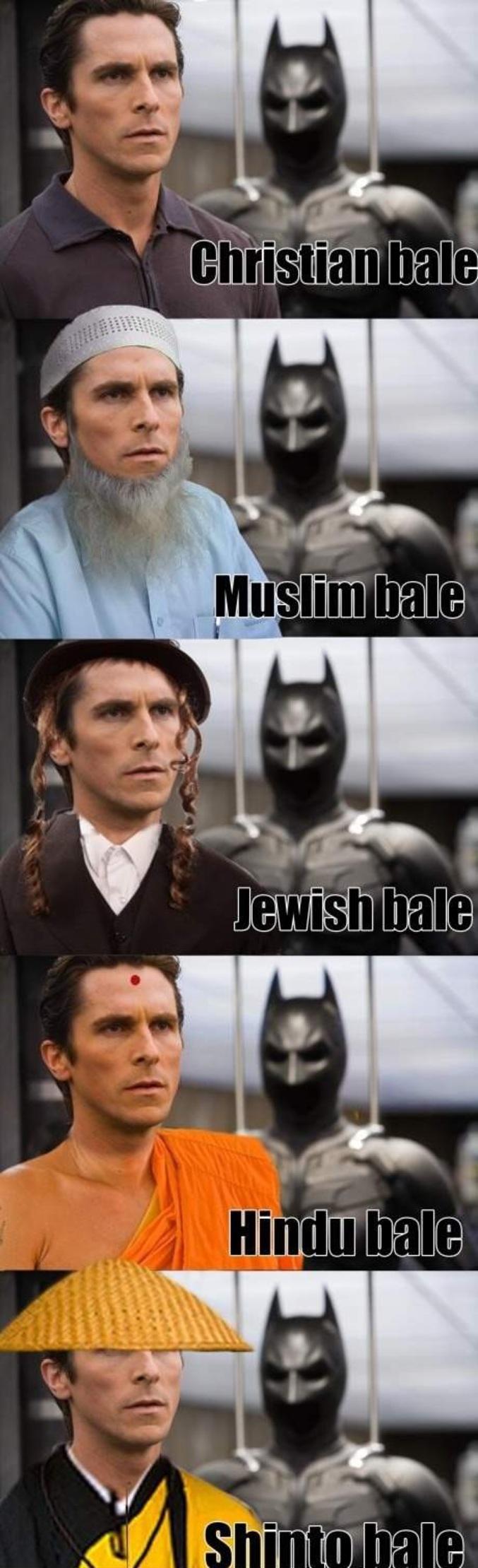 Batman, la justice divine.
