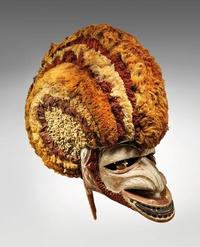 Masque Tatanua de Nouvelle-Irlande en Papouasie Nouvelle-Guinée