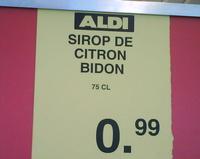 Sirop bidon