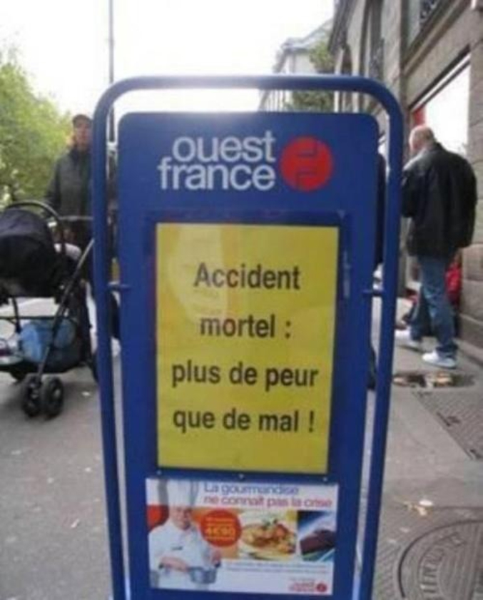 et de nombreux blessés ?