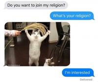 Une nouvelle religion