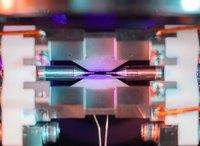 Photo d'un atome