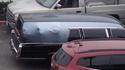 Un corbillard au parking