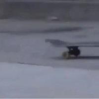 Quand ton skate te lâche...