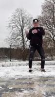 Danse dans la neige
