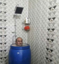 Bain douche à la russe