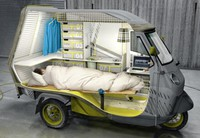 Camping-mobylette