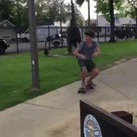 Horatio Caine fait du skate