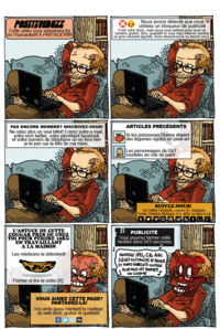 Boulet sur Internet