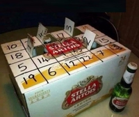 Calendrier de l'Avent pour amateur de bière !