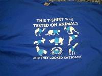 Testé sur les animaux