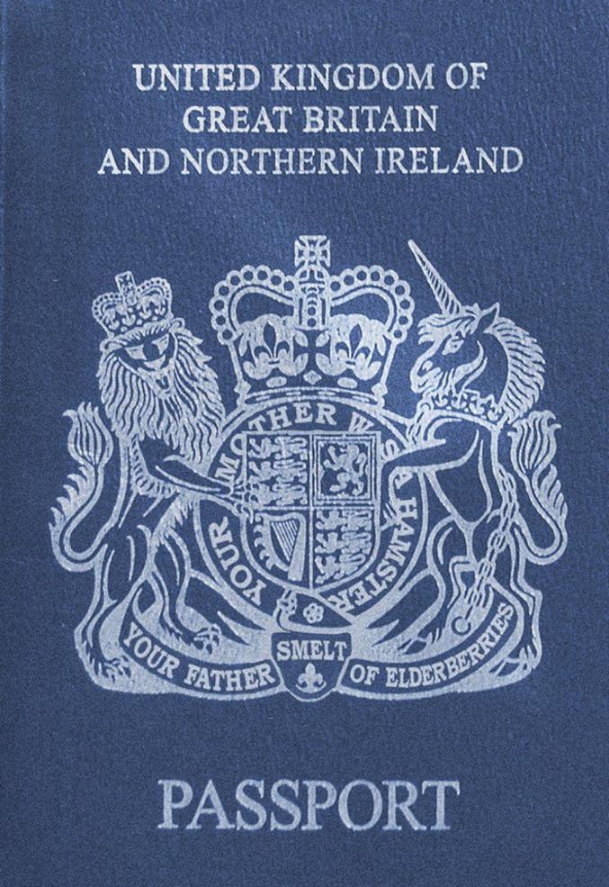 Avec la sortie de l'UE, les britanniques vont retrouver leur passeport. Le marché de la fabrication des nouveaux passeports a été remporté par l'entreprise française Gemalto. En exclusivité, voici un prototype.