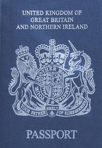 Futur passeport britannique.