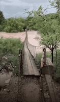 un pont qui a le swing !