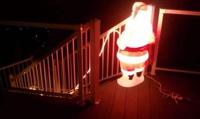 Déco lumineuse de Noël