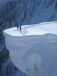 Base de neige solide