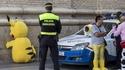 La police espagnole ne rigole pas avec Pikachu
