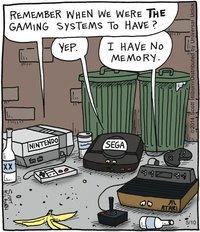 Entre vieilles consoles