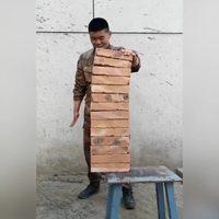 Cassage de briques