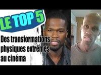 Le top 5 des transformations physiques extrêmes au cinéma