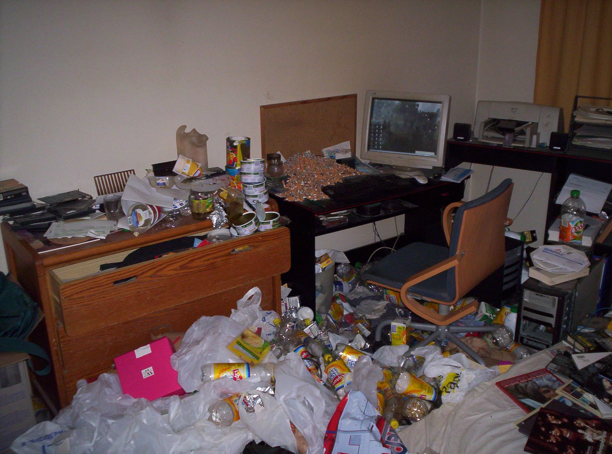 Chambre en bordel - Ranger une chambre en bordel ...