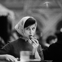 Salle à manger à Moscou, années 1960