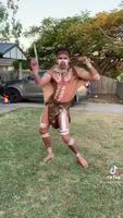 Danse aborigène traditionnelle et millénaire