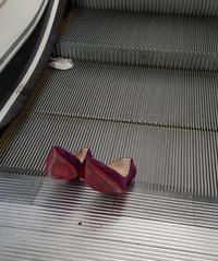 Abandon de chaussures