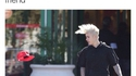 Justin coup de vent