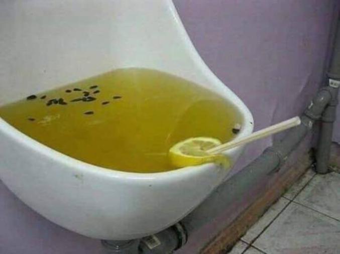 Sans doute un peu trop citronné...