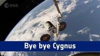 Désamarrage d'un vaisseau Cygnus de l'ISS