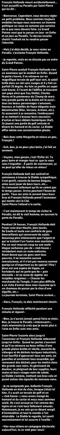 La mort de François Hollande