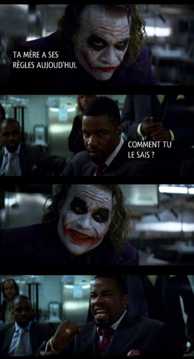 Sacré Joker...