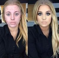 C'est plus que du make up et du photoshop là !
