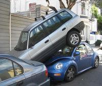 Echec critique de stationnement