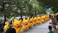 L'armée de Pikachu en marche
